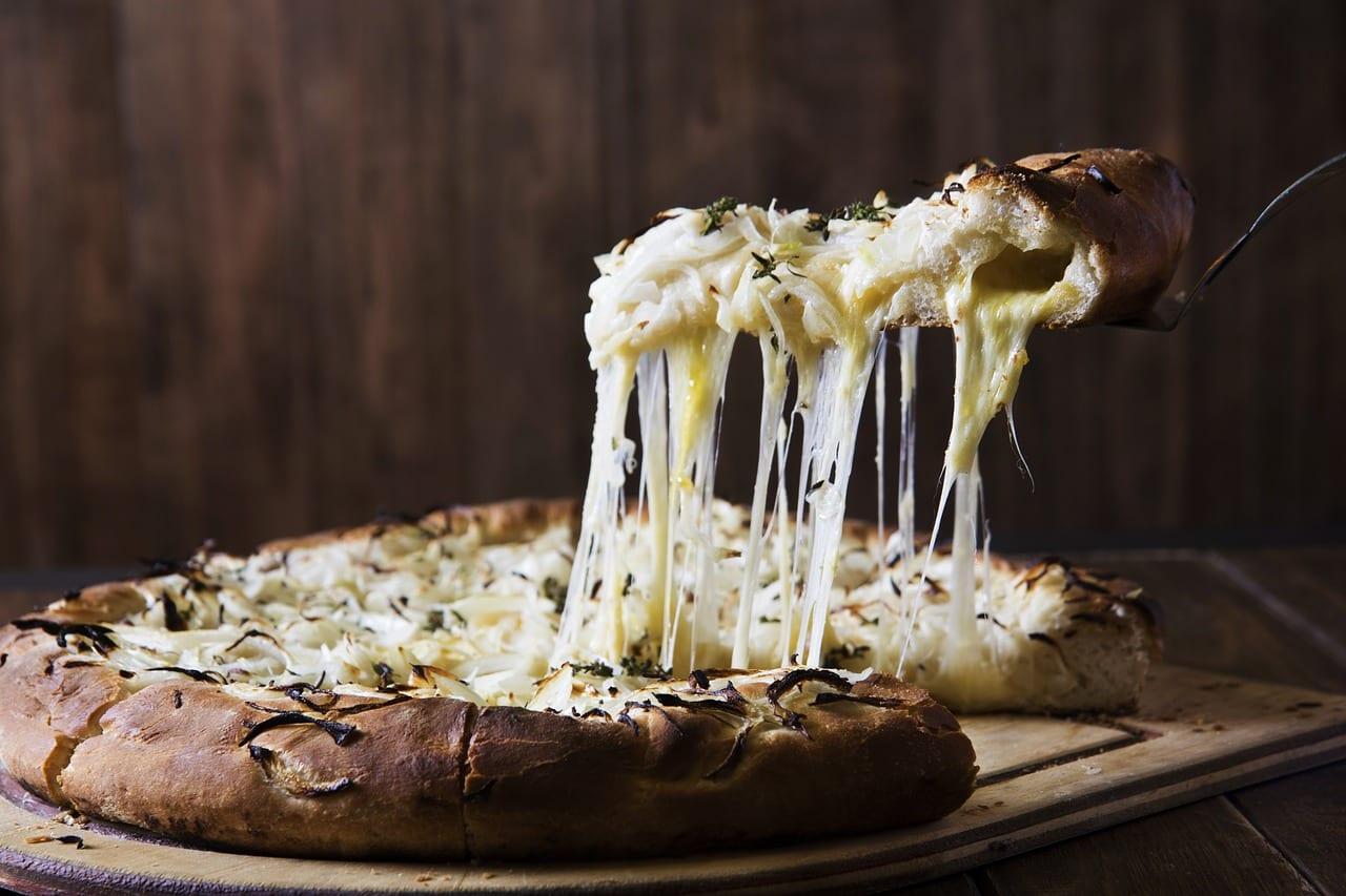 pizza de quesos