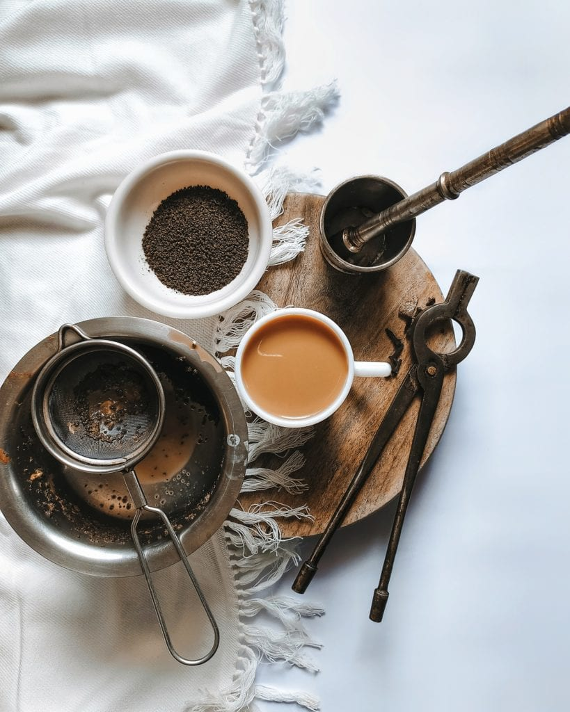 té negro elaboración