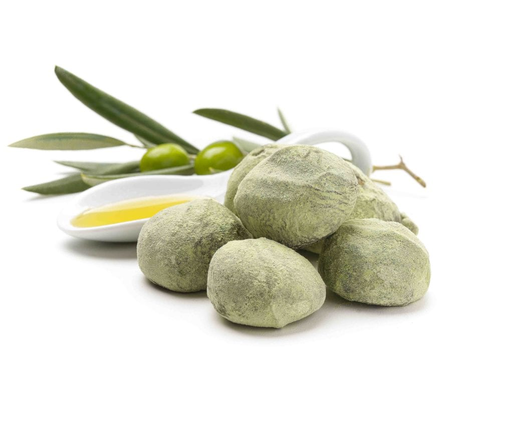 trufas de aceite de oliva