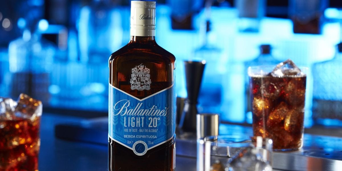 Ballantine´s Light. Bebidas low- alcohol