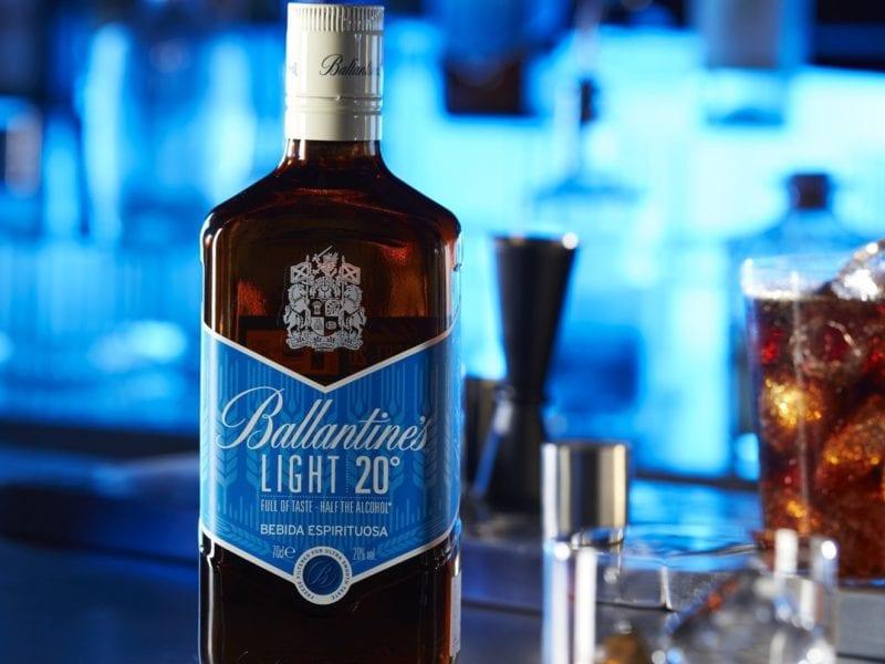 Ballantine´s Light. Bebidas low- alcohol