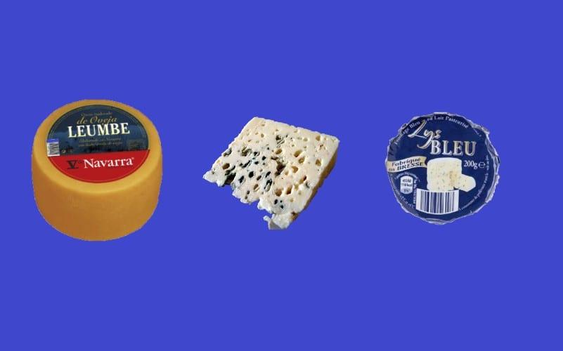 los mejores quesos de Aldi