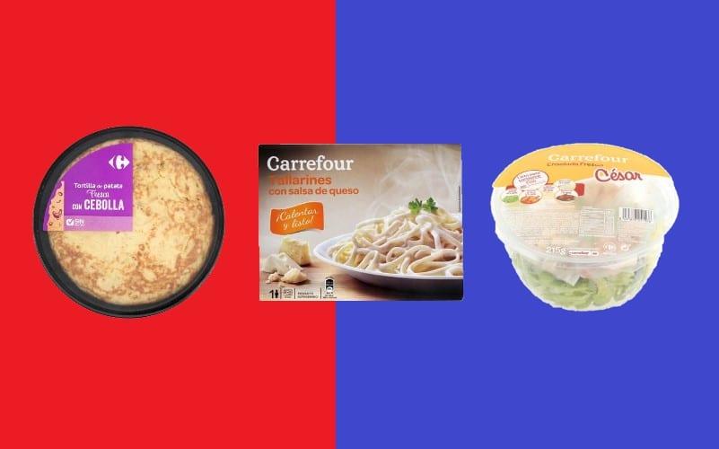 mejores platos preparados de Carrefour