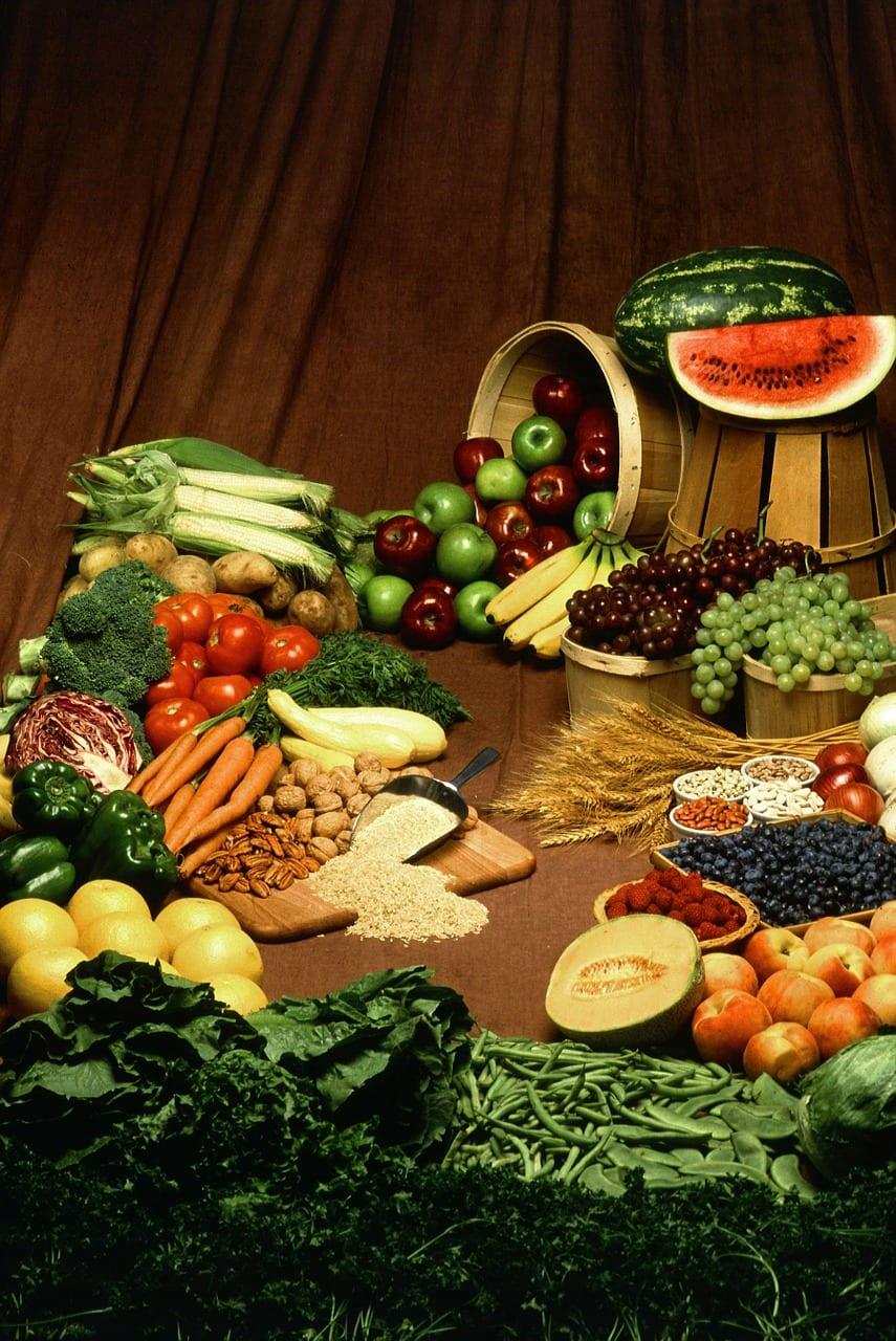 alimentos crudos