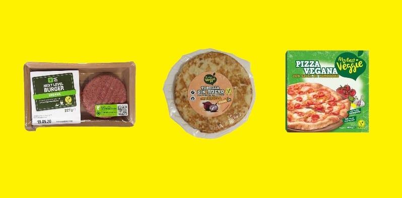 productos veganos de Lidl