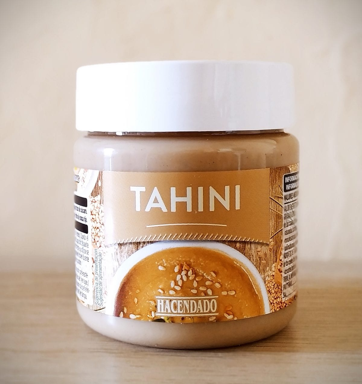 salsa tahini de Mercadona