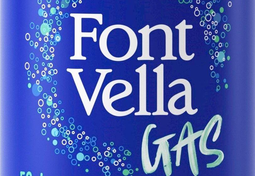 Água com gás Font Vella