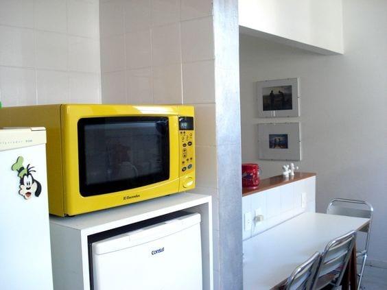 cozinhe no microondas