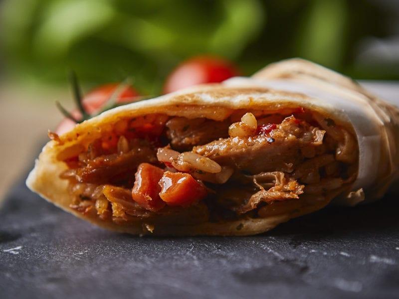 burritos sin pollo