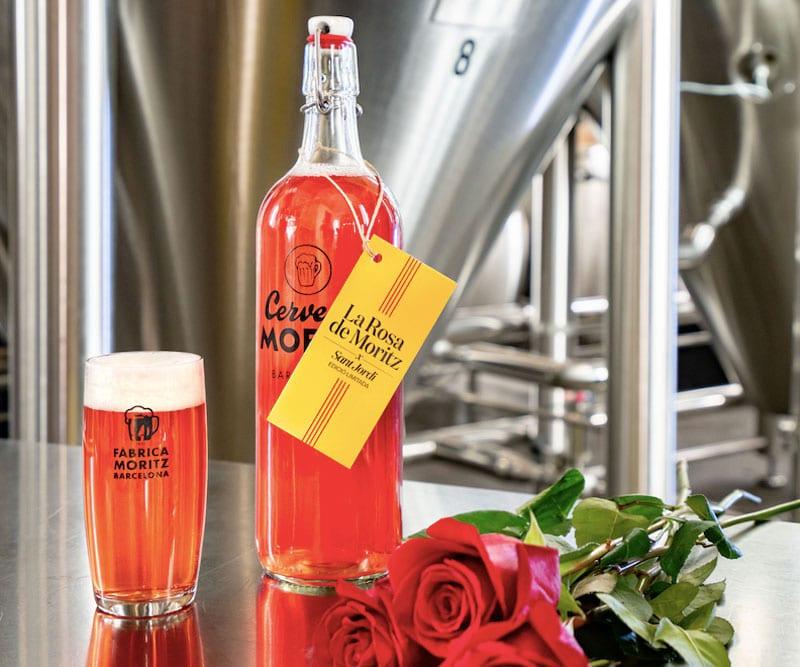 Cerveza rosa