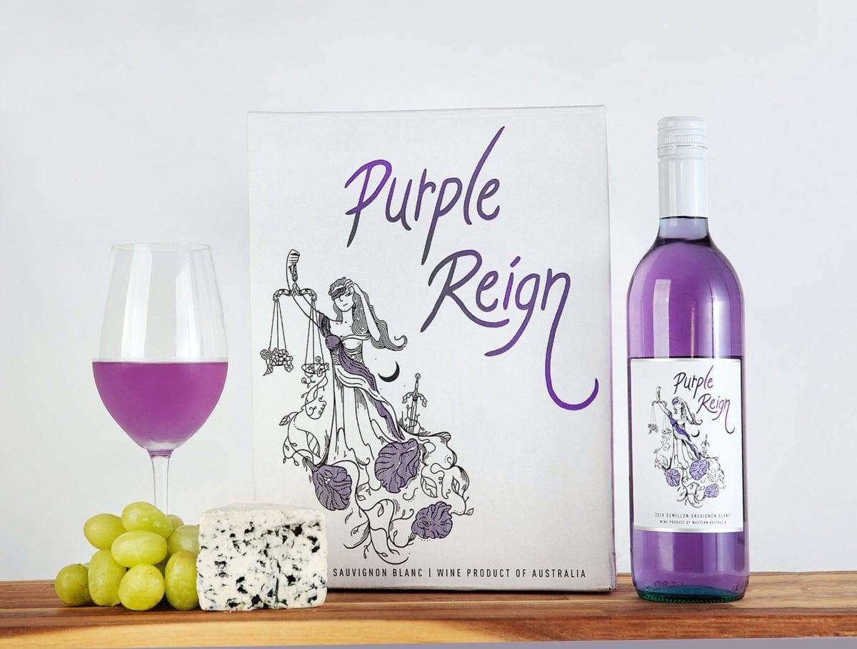 Vino morado