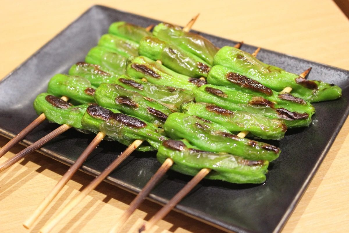 cocinar vegetales a la brasa