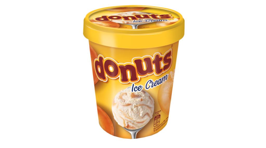 sorvete de donuts