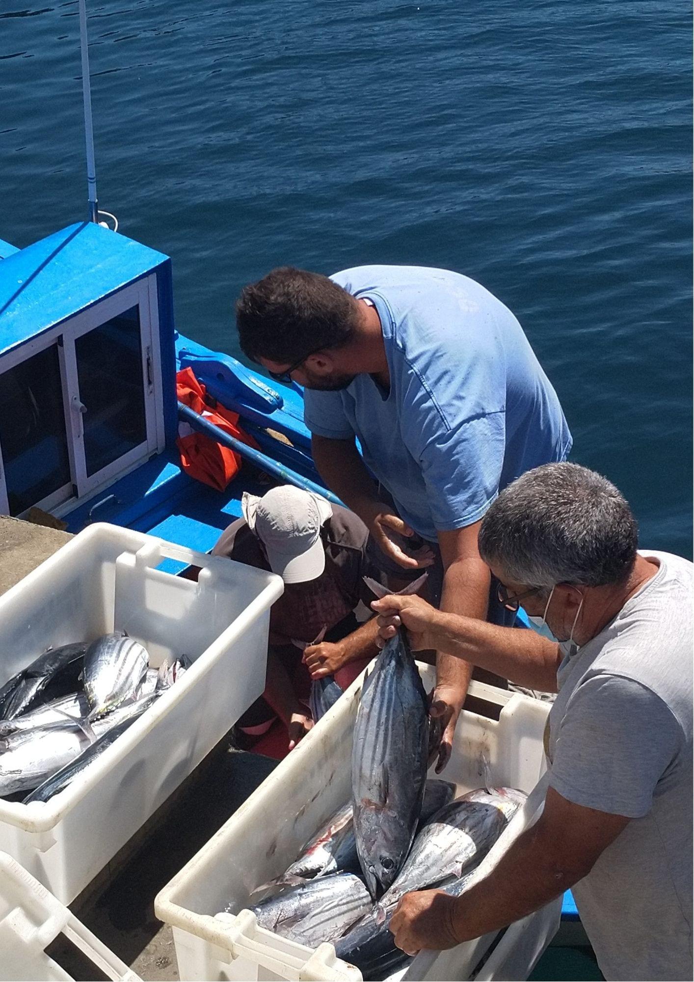 Pescadores de La Restinga. Foto: Monica Uriel
