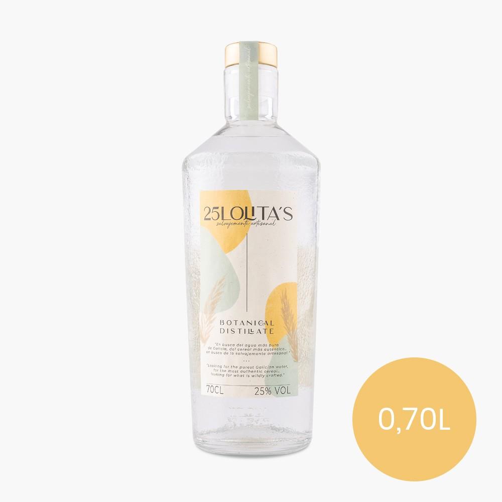 botella de ginebra 25Lolita's