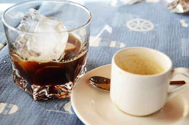 Café com gelo