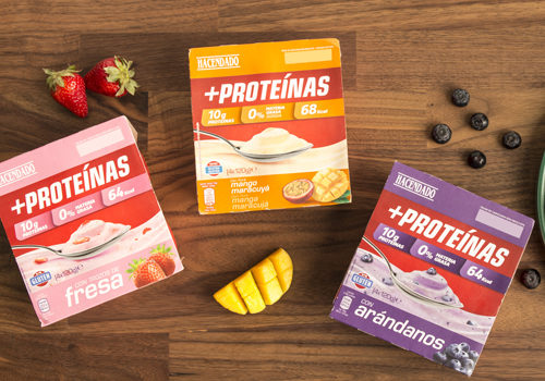 yogur proteico de Mercadona