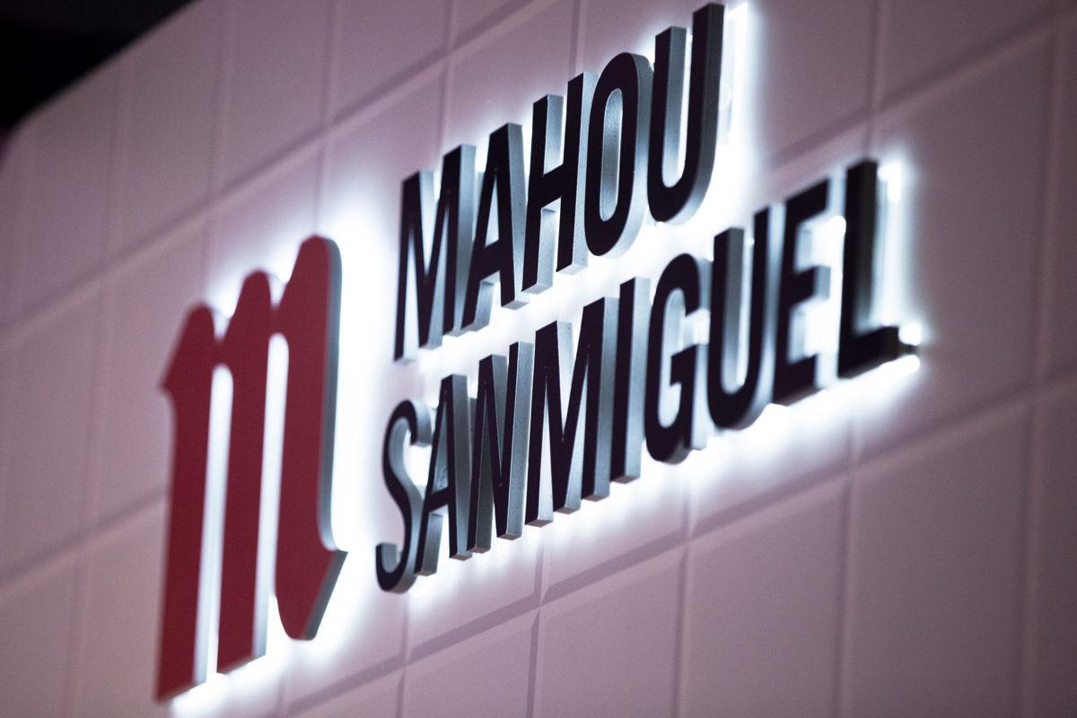 cartel de Mahoy San Miguel