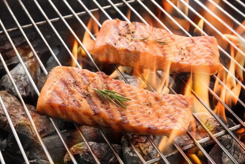 Barbacoa de salmón