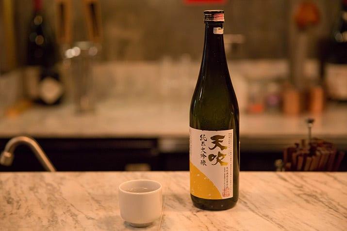 Shochu japonés