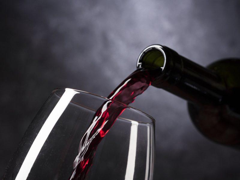 bicchiere di vino spagnolo