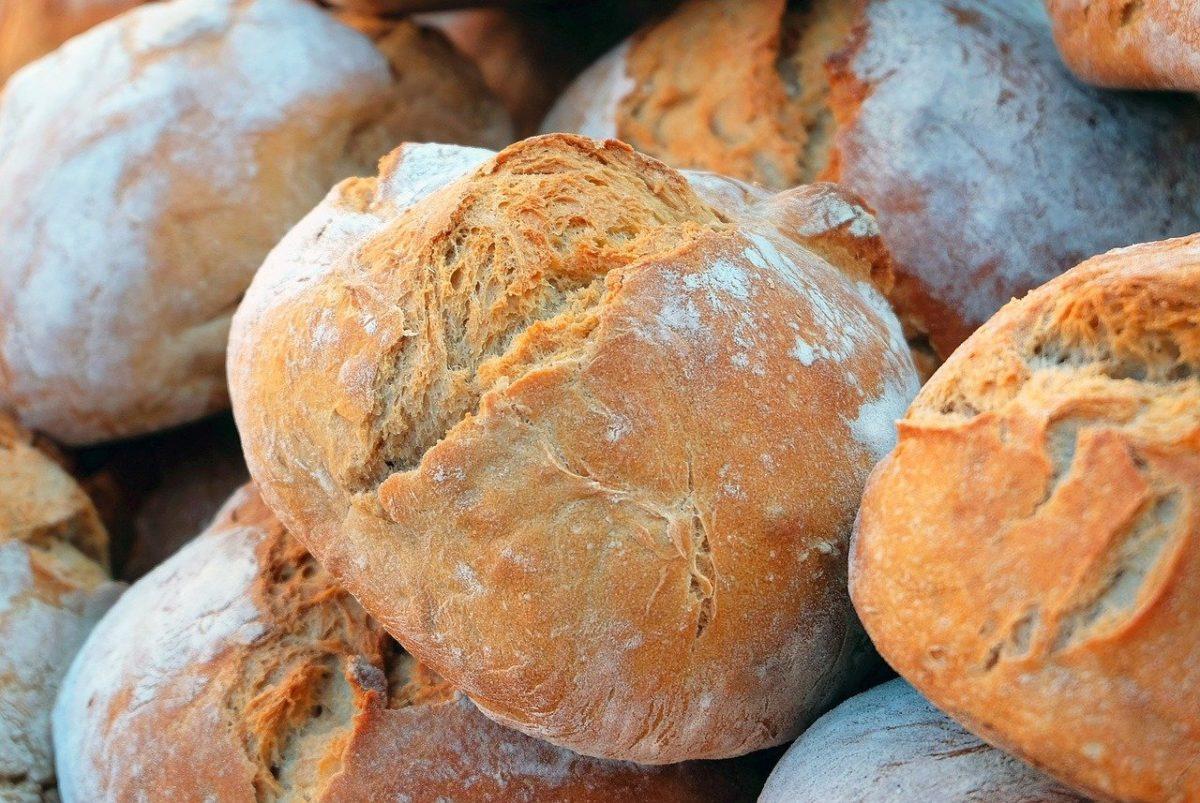 comer sem pão