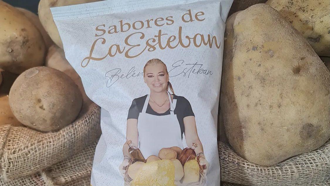 chips sabores do esteban