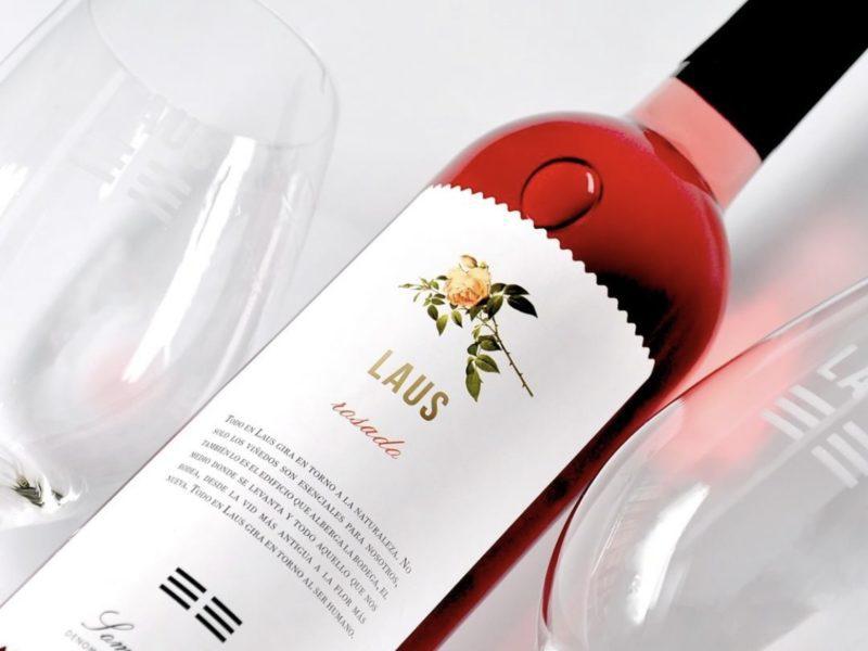 LAUS rosé wine